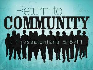 Return to Community
